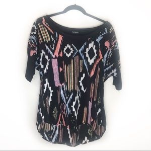 Daytrip Aztec Pattern Top